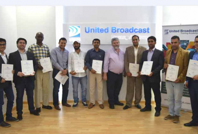 UBMS hosts IABM certified training course
