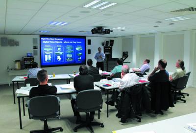 Extron workshops reach Europe