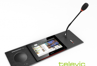 Televic sets out its InfoComm stall