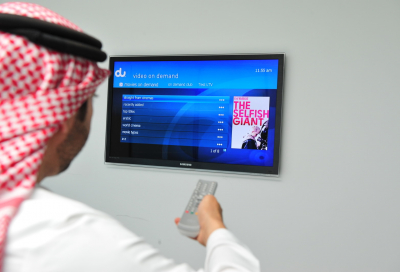 Du updates its TV and VoD interface