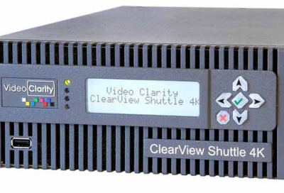 Video Clarity launches ClearView Shuttle 4K