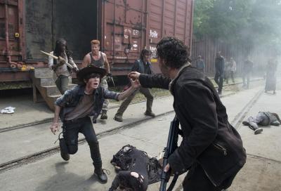 Fox premieres 5th season of Walking Dead