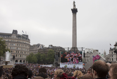 XL Events supplies screens for royal wedding