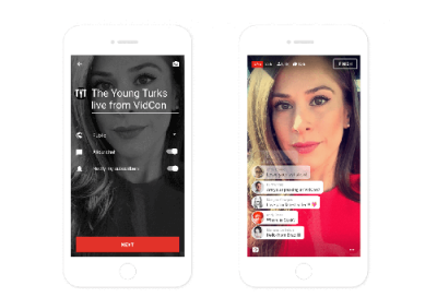 YouTube launches mobile live streaming