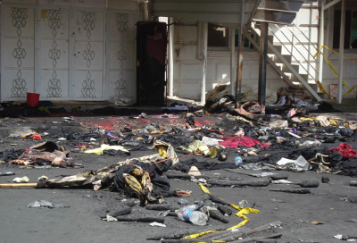 'Gross errors' contributed to Kuwait tent blaze
