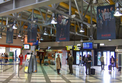 New RCF sound system for Florence Airport