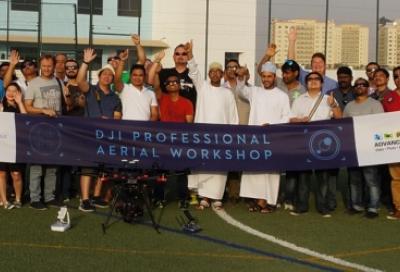 DJI and Advanced Media partner for drone workshop