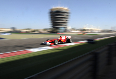 Grand Prix team caught up in Bahrain unrest