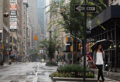Broadway shut down ahead of Hurricane Irene