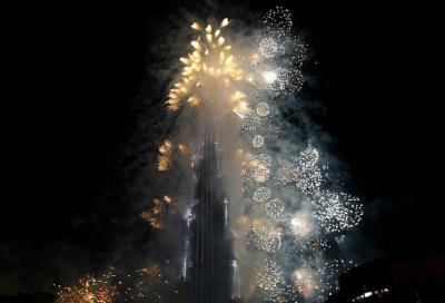 NYE fireworks get live broadcast