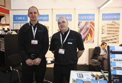 Canford makes connections at Cabsat