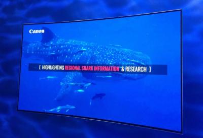 Canon supports shark documentary