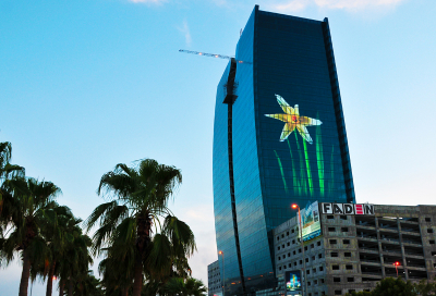 VIDEO: The biggest LED screen in the Middle East