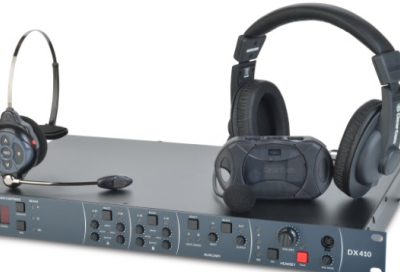 Clear-com launches DX410 2.4GHZ intercom system