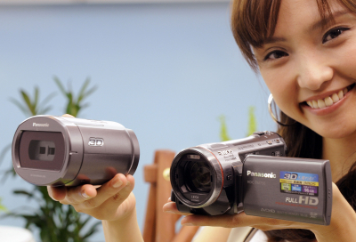 IN PICTURES: Panasonic's 3D video cameras