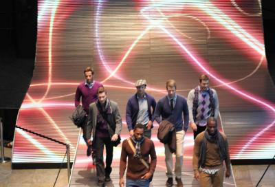 LED catwalk at the Centro Fashion Week