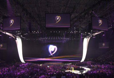 Coolux Widget Designer add sparkle to Eurovision
