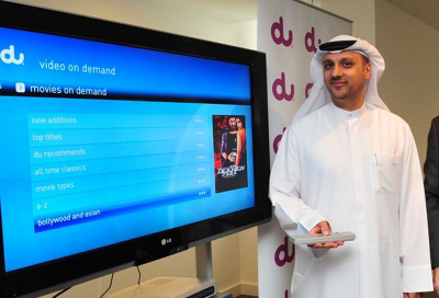 Du launches video-on-demand service in UAE