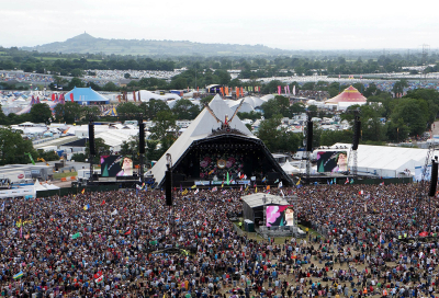 TCS gets in festival spirit at Glastonbury