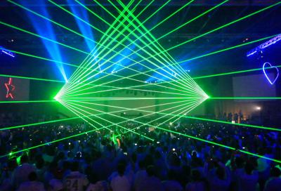 IN PICS: Laser spectacular at Armin Van Buuren