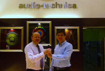 Audio-Technica targets region with GCC hire