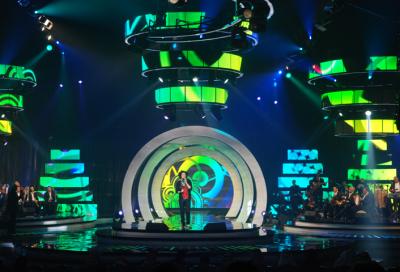 Arab stars perform under Clay Paky rig