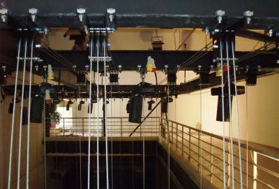 Unusual Rigging refurbishes theatre in Kuwait