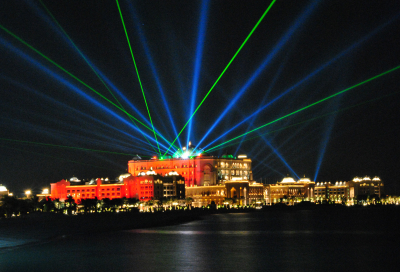 UAE celebrations: now with added Laser