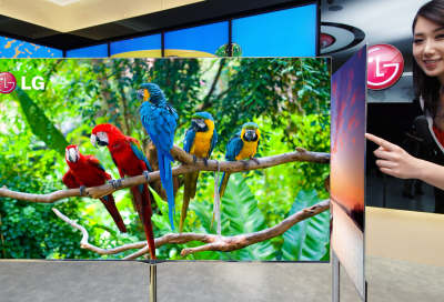 Flagship LG TV coming to an airport near you...