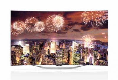 LG unveils 55-inch OLED TV