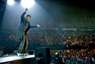 Lionel Richie tours with Digico SD7