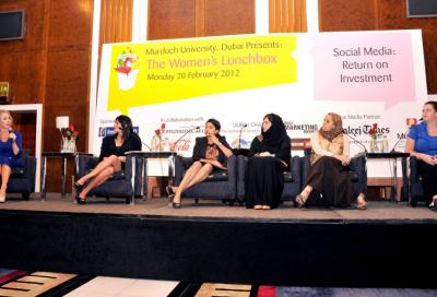 Women's media forum hosts debut event