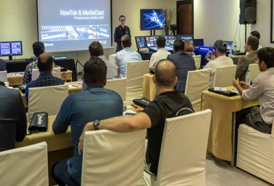 NewTek launches IP Series in Middle East