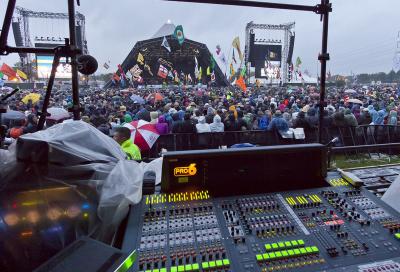 Midas returns to Glastonbury FOH