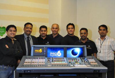 NMK supplies DWTC with Midas PRO6