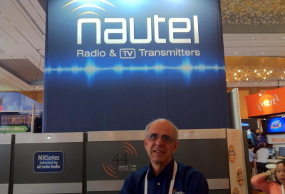 Nautel demos NT-series TV transmitters