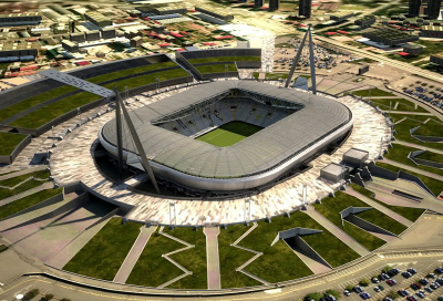 Optocore ring network for Juventus Stadium