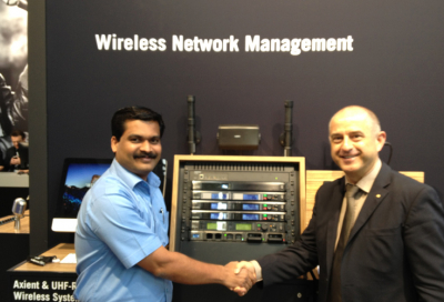 NMK passes Shure sales milestone