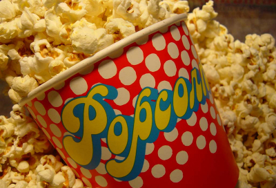 Study: Popcorn makes us immune to advertising
