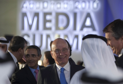Arab creativity stifled by censorship: Murdoch