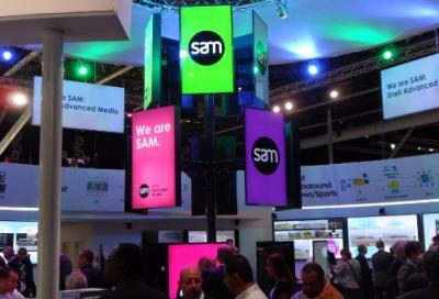 SAM demos complete IP portfolio at IBC