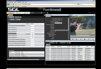 SGL demos new features on FlashNet