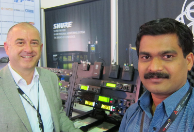Showtech invests in new in-ear solution from Shure