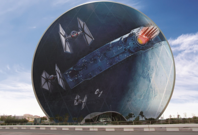 BIG PICTURE: Star Wars grabs attention in UAE