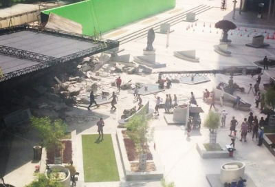 Star Trek Beyond filming in DIFC