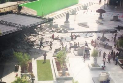 Star Trek Beyond filming in DIFC