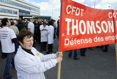 Thomson employees 'occupy' factories: reports