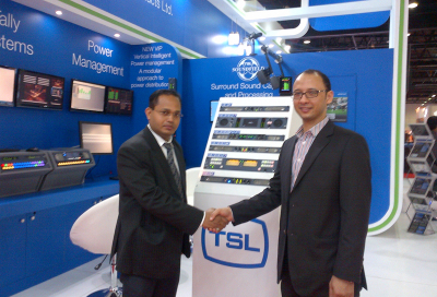 Qvest installs TSL monitoring at Dubai TV
