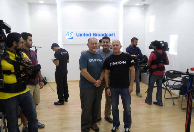 UBMS hosts Steadicam training