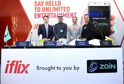 Zain and iflix launch joint venture